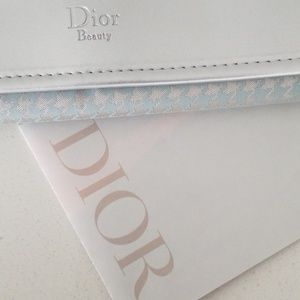 Dior cosmetic travel case